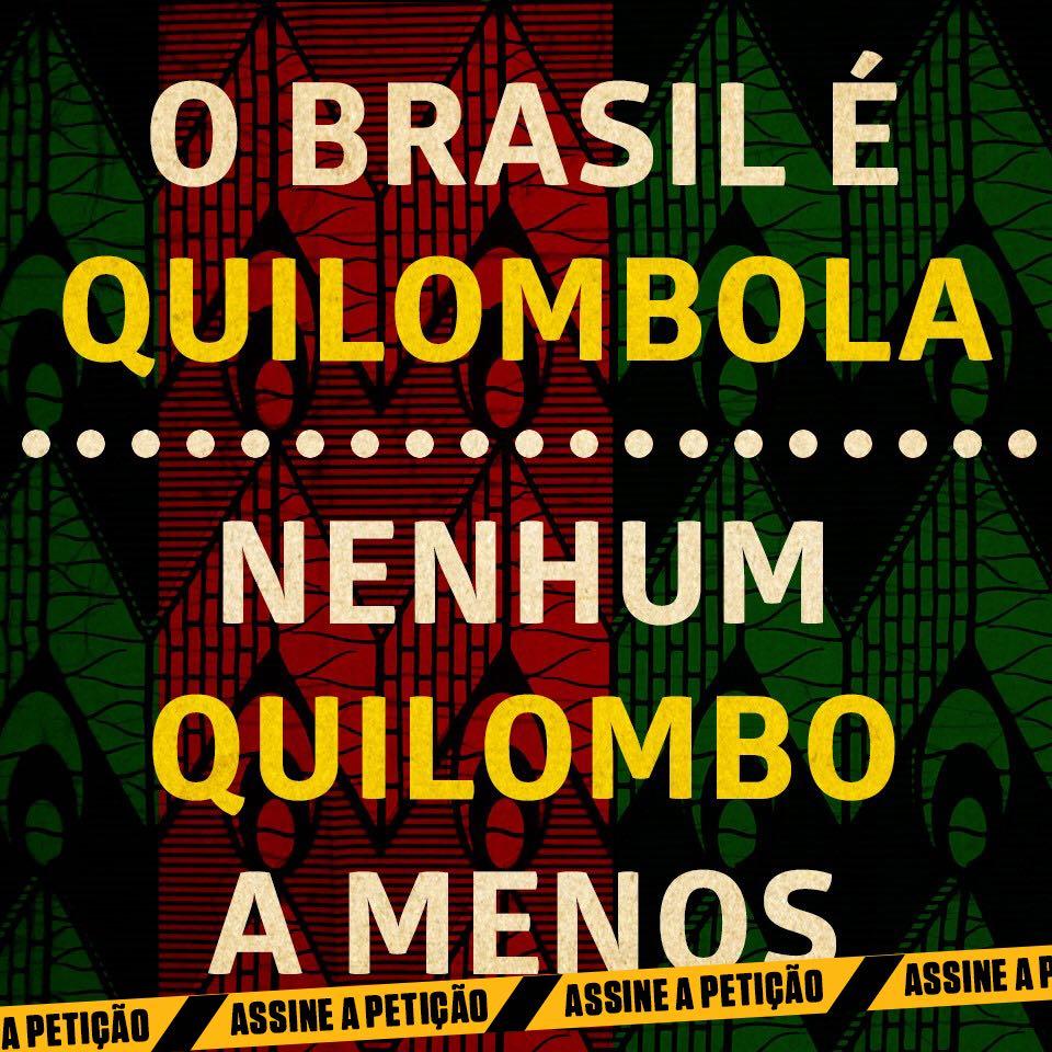 Campanha Nenhum Quilombo a Menos