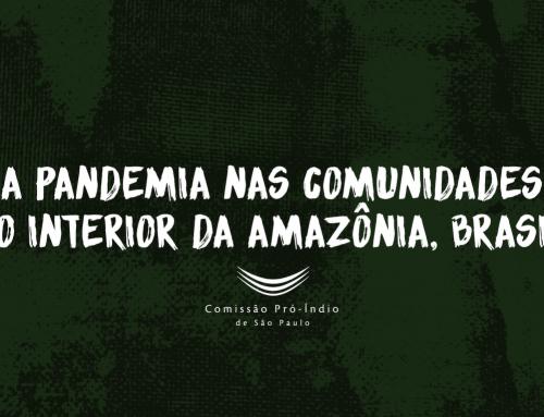 Vídeo: a pandemia nas comunidades no interior da Amazônia